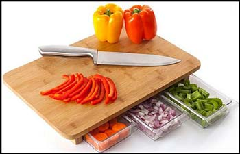 One-Stop Chop Cutting Board