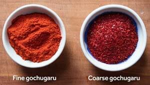 Comparing Gochugaru vs Gochujang