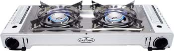 Gas One GS-2000 Dual Fuel Double Portable Stove