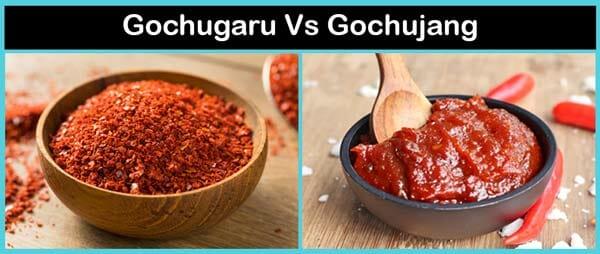 Gochujang vs Gochugaru