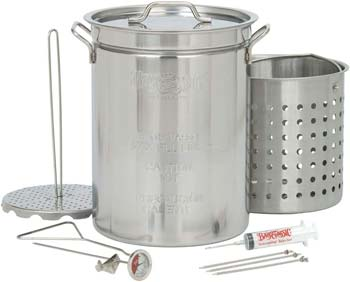 Bayou Classic 1118 32-Quart Stainless Steel Fryer