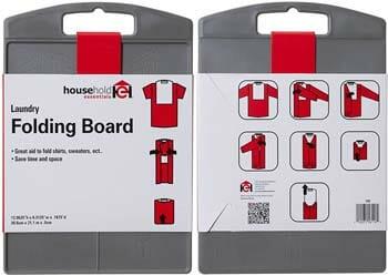Household Essentials 195 Shirt Folding Board